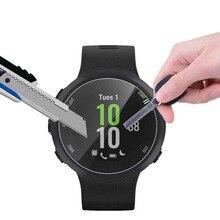 מזג זכוכית ברור מגן סרט משמר עבור Garmin Forerunner 45/45S Fr45 חכם שעון משוריינת מלא מסך מגן כיסוי