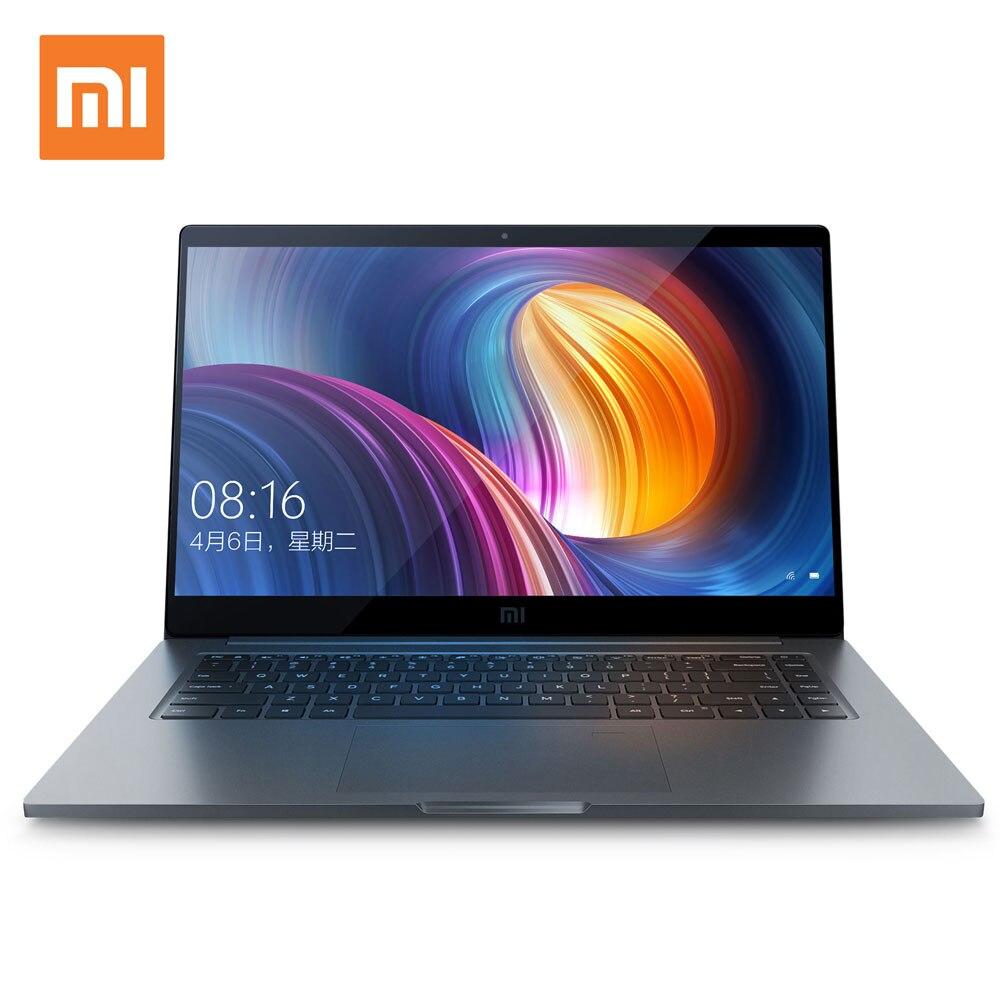 Xiao mi ordinateur portable Air Pro 15.6 pouces ordinateur portable Intel Core Quad CPU NVIDIA 16 GB 256 GB SSD GDDR5 empreinte digitale déverrouiller Windows 10