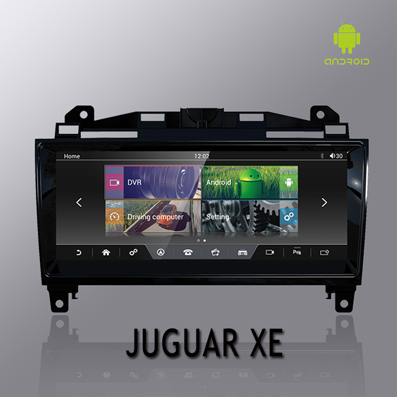 XFL NVTECH 10.25 ''para Juguar XE XF F-PACE Painel Multimídia GPS Navi Bluetooth Android7.1 2 GB + 32 GB jogador 2014-2017