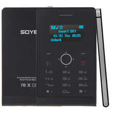 SOYES H1 Touch Keyboard Card Mobile Phone 1 3 inch Single SIM Remote Capture Pedometer Bluetooth