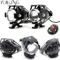 Headlight Spot Head Light Spotlight Assist Lamp Light Switch for yamaha mt09 mt 09 03 01 tmax 500 530 r1 r3 r6 fz6 FJR vmax Xmax -