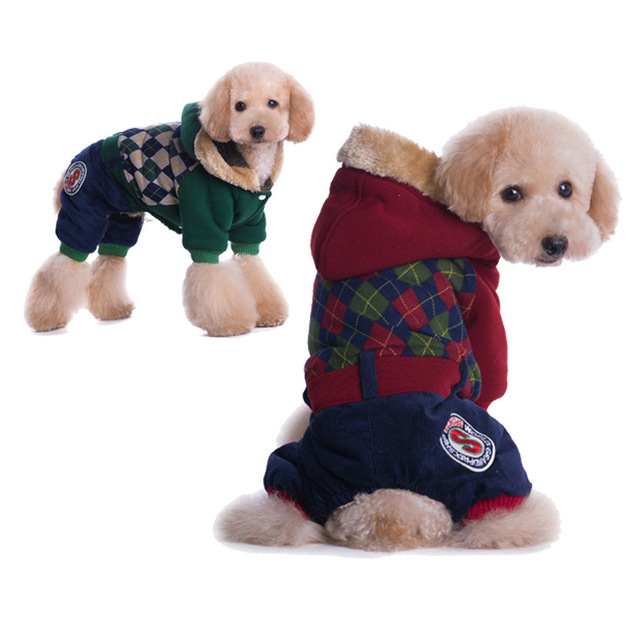 Aliexpress.com : Buy New Cotton Geometric Clothing For Dogs Winter ...