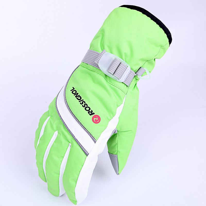 Lovely Winter Skiing Gloves Sports Snowboard Ski Gloves Winter Bike Thick Motorcycle Cycling Anti -30 Degree Warm Gloves For Men Women Quality And Quantity Assured
