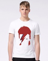 New Arrivals Fashion Rock David Bowie Vintage T Shirt Men S Star Bowie T Shirt Summer