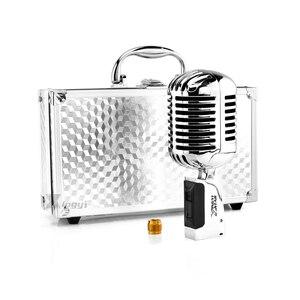 Image 5 - Metal Professional Vocal Dynamic Vintage Microphone For Karaoke Speaker Recording Studio KTV Jazz Stage DJ Controller Amplifier
