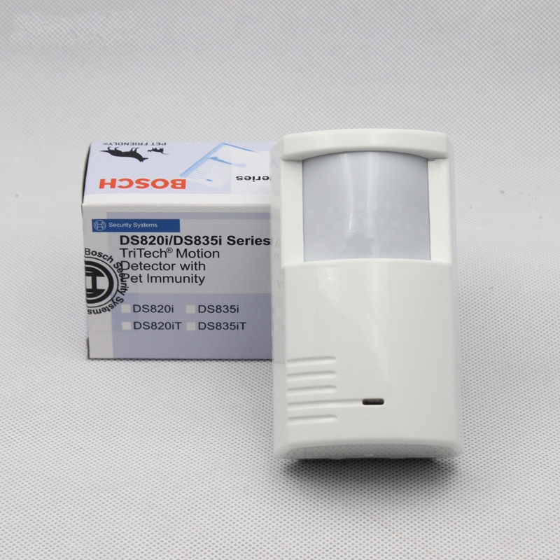 (1 PCS) Bosch DS-835i Indoor PIR and microwave sensor Pet immunity wired alarm motion sensor Security Alarm Detector anti theft 1 pcs indoor wired glass break sensor wall mounted vibration detecter security alarm crow gbd 02 shock detector freeshipping