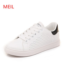 Woman Casual White Flatform Flat Shoes Women Sneakers 2018 Zapatillas Mujer Ladies Trainers Womens