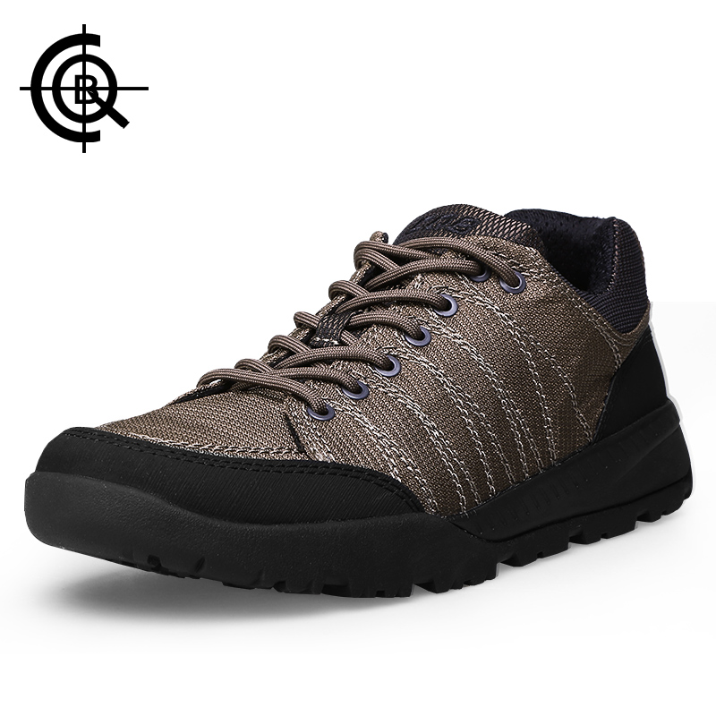 ФОТО CQB Hiking Shoes Men Hike Shoes Outdoor Tactical Walking Shoes Sport Non-Slip Fishing Walking Trekking Mountain Shoe CXZ0233