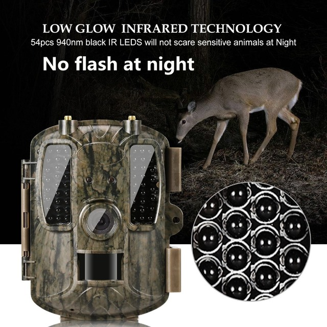 Newest Hunting camera GPS Wireless 4G FDD LTE Remote APP Control Camo Hunting Game Trail Camera Wildlife Photo trap 4G 3G HD
