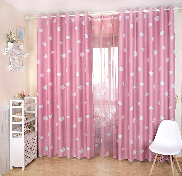 hot sale vorhang blackout 3d curtains cloud tenda window Curtains for living room bedding