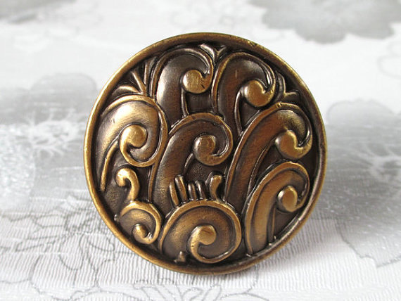 Antique Brass Dresser Knob Drawer Knobs Pulls Handle / Unique Kitchen Cabinet Handles Knob Decorative Vintage Furniture Hardware 6pcs bronze chinese door handle wardrobe handle kitchen knobs cabinet hardware vintage handles decorative knob asas para cajones