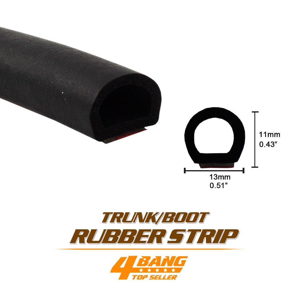 Car Styling Rubber Seal Strip Kit Edge Trim Pillar For Trunk Boot Sedan Hatch Back SUV Soundproof Waterproof Dustproof