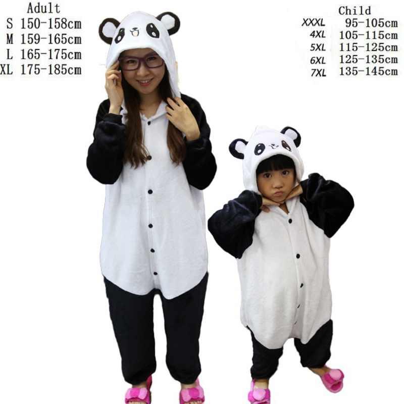 ... унисекс фланеливая пижама детские пижамы животные пижама аниме косплей  животные стежка панда комбинезон для детей единорог ... 3406deb7c9f3f