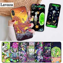 Lavaza Cartoon Rick And Morty Silicone Case for iPhone 5 5S 6 6S Plus 7 8 11 Pro X XS Max XR lavaza cartoon mickey mouse couple silicone case for iphone 5 5s 6 6s plus 7 8 11 pro x xs max xr