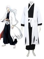 Jushiro Ukitake Cos Anime BLEACH Cosplay Man Woman Halloween Japanese kimono Cosplay Costume Captain of the thirteenth team