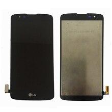 Original Para LG K8 LTE K350N K350E K350DS Pantalla LCD con Pantalla Táctil Digitalizador Asamblea Con marco Libre del envío