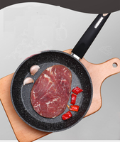 A 8% Best Quality Medical Stone Earth Frying Pan with 100% APEO & PFOA Free Stone Derived Non Stick Coating Grills Pan