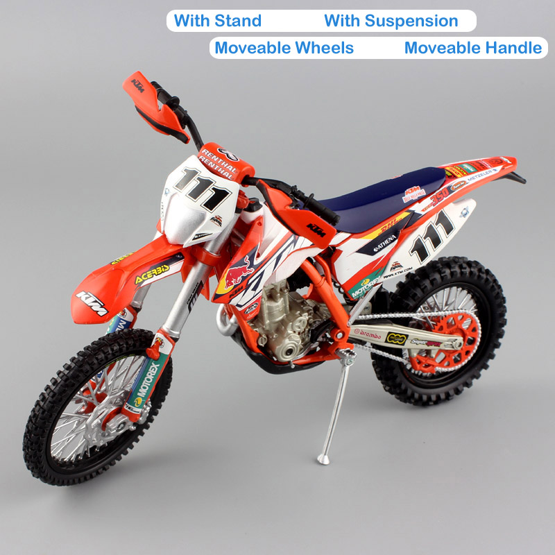 kids 1/12 scale KTM EXC350 EXC F 350 REDBULL Race No.111 TEDDY ...