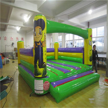 Inflatable bouncer trampoline playground with CE/UL blower YLW-bouncer 210