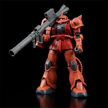 Original Gundam HG 1/144 Model MS-06S ZAKU 2 PRINCIPALITY OF ZEON CHAR AZNABLE Mobile Suit THE ORIGIN GTO Kids Toys BANDAI