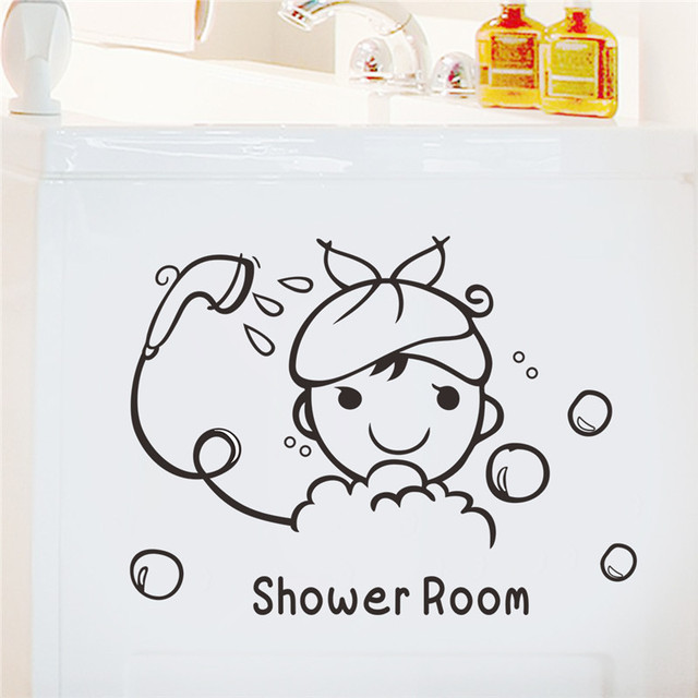 Bathroom Decor Decal Stickers 4