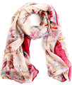 2016 женский bufandas бренд шарф большой шарф женщин зима теплая шарфы пашмины платок поля и сады цветочный шарф