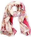 2016 do sexo feminino marca bufandas lenço grande cachecol mulheres inverno quente lenços pashmina xale campos e jardins cachecol floral
