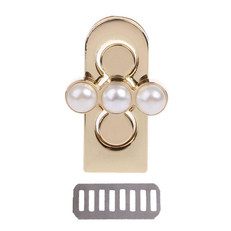 THINKTHENDO Metal Clasp Turn Lock Twist Locks DIY Leather Handbag Bag Hardware Accessories Fashion Elegant Metal Buckles