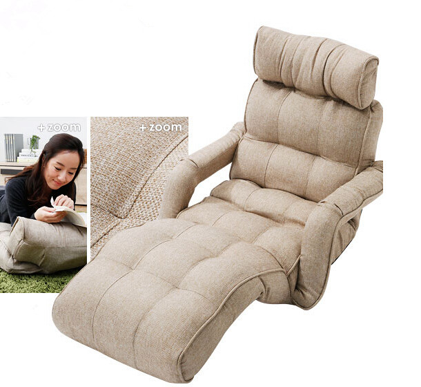 Aliexpress.com  Buy Floor Foldable Chaise Lounge Chair 6 Color Adjustable Recliner Living Room Furniture Japanese Style Daybed Sleeper Sofa Armchair from ...  sc 1 st  AliExpress.com : sleeper recliner - islam-shia.org