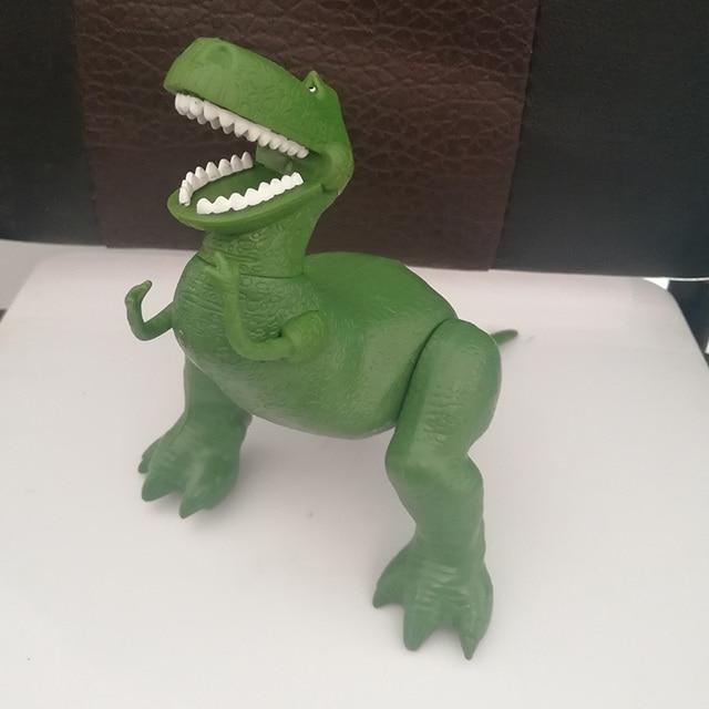 Toy Story 3 Rex el dinosaurio verde PVC figura de acción juguete cumpleaños  Navidad Año nuevo 8fc7416f5eb