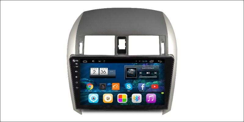 Cheap Liisle Android GPS NAV NVAI Navigation System For Toyota Corolla 2007~2013 Radio Stereo Audio Video Multimedia ( No DVD Player 0