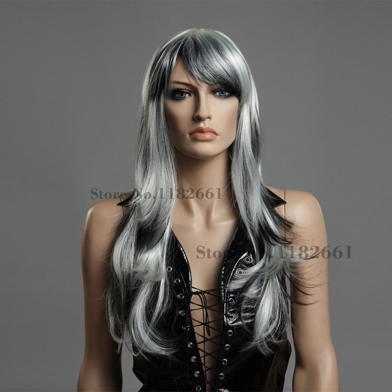 White highlights with black hair best black hair 2017 25 best hair streaks images on ash blonde balayage pmusecretfo Images