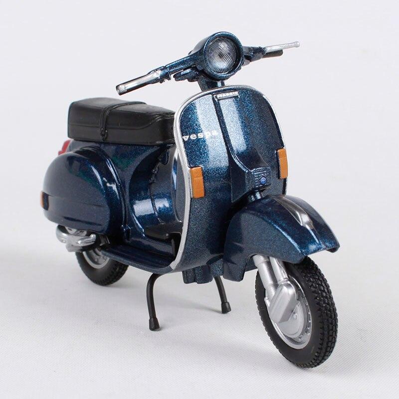Azul Emilio Fern/ández Llavero de Piel Motocicleta Vespa Hecho en Espa/ña