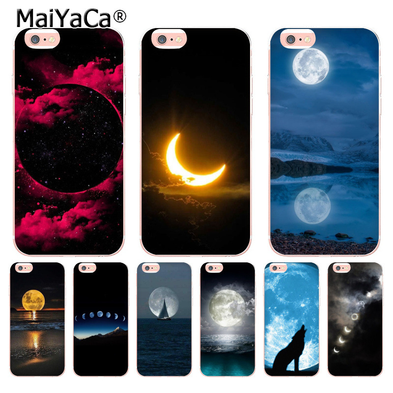 Cellphones & Telecommunications Symbol Of The Brand Maiyaca Fashion Amazing Nice Full Moon New High Luxury Phone Case For Iphone 8 7 6 6s Plus X 10 5 5s Se 5c 4 4s Coque Shell