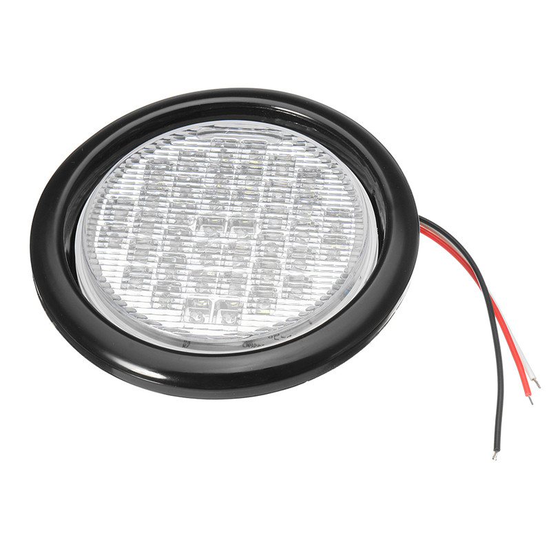 4 Inch 40Led Truck Trailer Lights DC 12 LED Car Stop/Turn/Tail Self ...
