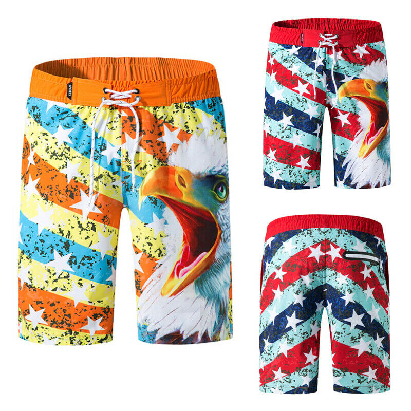 Men Swimming   Board     Shorts   Quick Dry Beach   Shorts   Swim   Shorts   Trunks Swimwear Beach Summer Holiday Clothing   Short