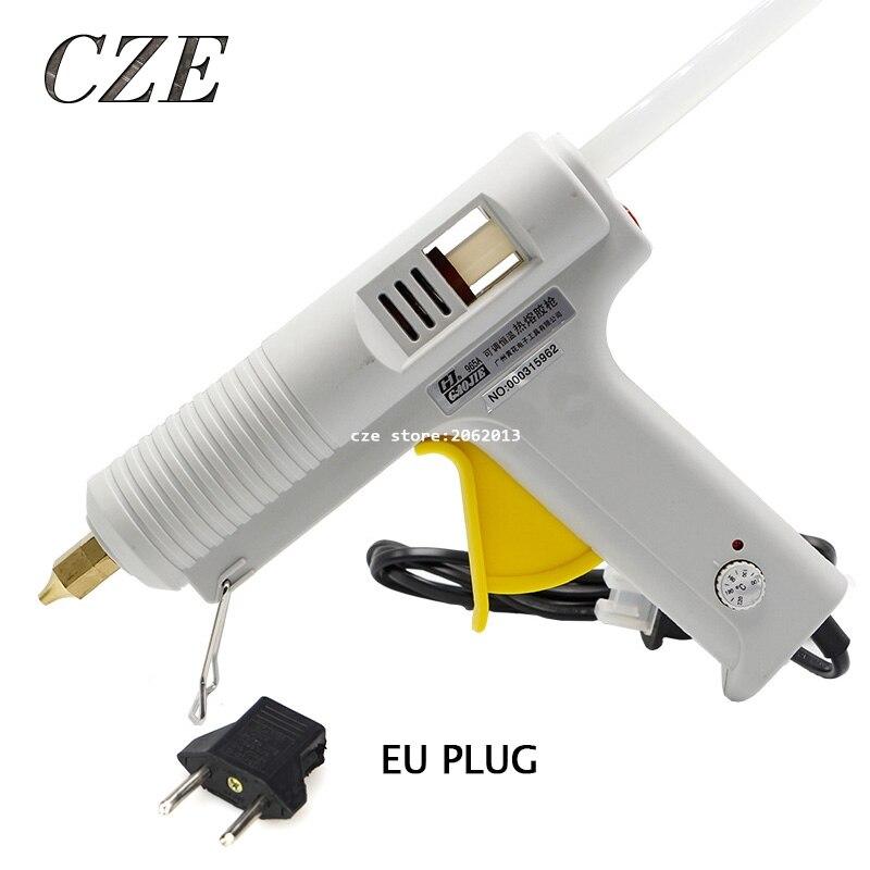 Freeshipping 100W 220V Adjustable Constant Temperature Type Electric Heating Hot Melt Glue Gun Professional NO.965A 100w temperature adjustable hot melt glue gun 220v