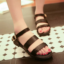 Free shipping three straps Roman sandals wild Vietnam