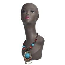 Female Wig Stand Mannequin Manikin Head Model Wig Cap Jewelry Hat Display Holder Stand Training Head недорого