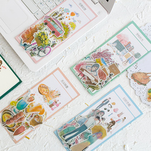 60 pcs/lot Days went past series sticker DIY diary album decoration stickers scrapbooking planner label Scrapbook stickers printio 75 days stickers