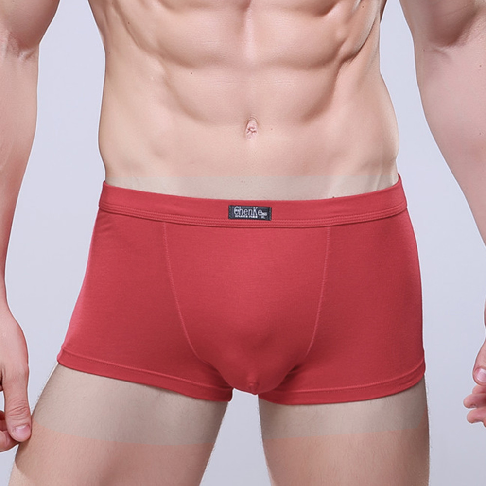 3925acedf88 DoreenBow Modal Cotton Men s Underwear Soft Boxer Shorts Male High Quality  Underpants Black Gray Dark Blue Red 4 Sizes
