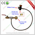 24'' High Pressure Hose Single Valve Co2 Fill Station for Filling Soda Stream Tank