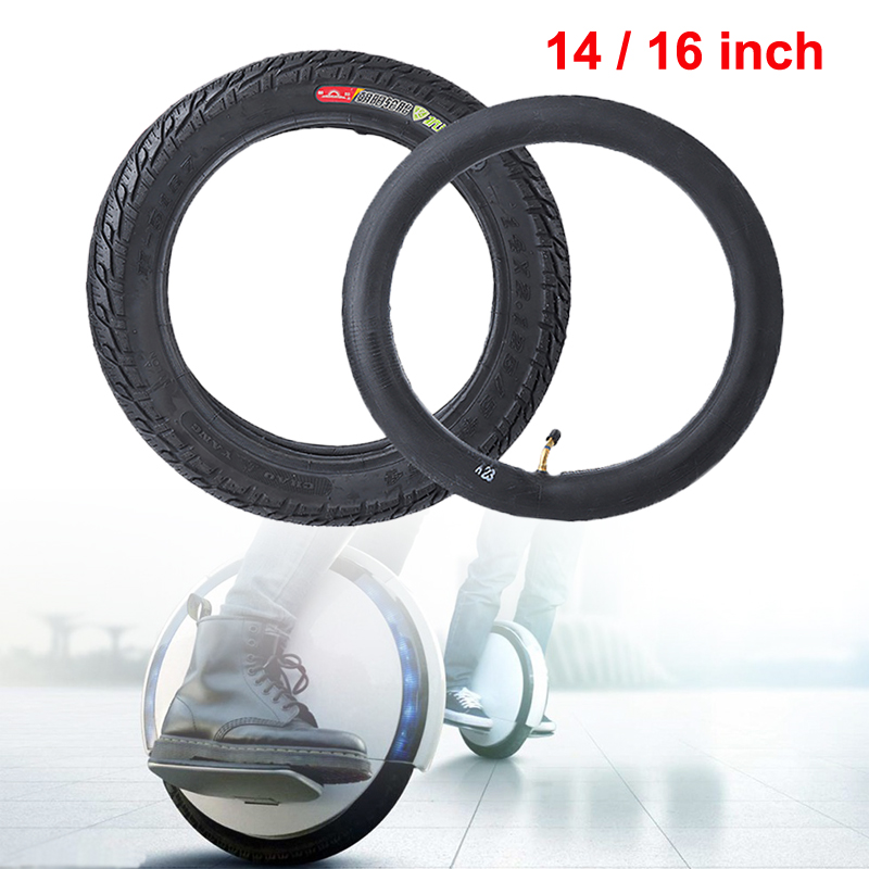 US $18 48 15% OFF 14inch / 16inch Scooter Outer Tire Rubber Wheel For  Ninebot One C/C+/E/E+/S2/A1 Electric Scooter Replacement Repair Spare  Parts-in