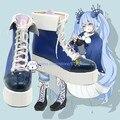 Vocaloid Hatsune Мику Мику Спортивная Униформа Косплей Boots Обувь Для Костюм На Заказ