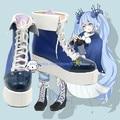 Vocaloid Hatsune Miku Miku Sportswear Uniform Cosplay Boots Shoes For Costume Custom Made
