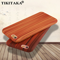 i6 Slim TPU Silicone Wood leather Soft Phone Case For Iphone 5 5s SE 6 6s / Plus Luxury Back Cover Ultra-thin Wooden Grain Cases