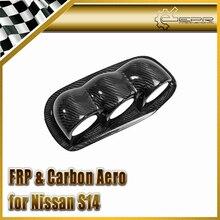 ЭПР Стайлинга Автомобилей Для Nissan S14 Углеродного Волокна Урас Type Dash Mount Трехместный Gauge Pod 60 мм (RHD) На Складе
