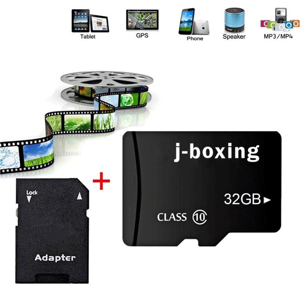 Image 2 - J boxing 5PCS Micro SD Card 8G 16G 32G Flash Memory Card 64GB 128GB TF Micro SD Class 10 for Smartphone/Tablet PC/GPS/Camera/MP4-in Micro SD Cards from Computer & Office