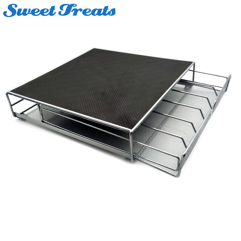 Sweettreats Coffee Pod Holder Storage Drawer Coffee Capsules Organizer for 36 Dolce Gusto Nespresso