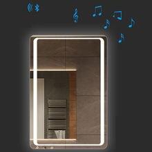 Зеркало СИД Сенсорное настенное для ванной комнаты 2 цвета